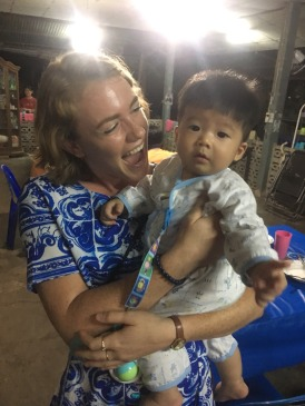 Changsen's nephew, Huilyhn's son. His name is Keelhyn and he is about 7 months old.